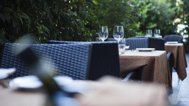 I tavoli del dehor - Piccolo Sogno, Milan