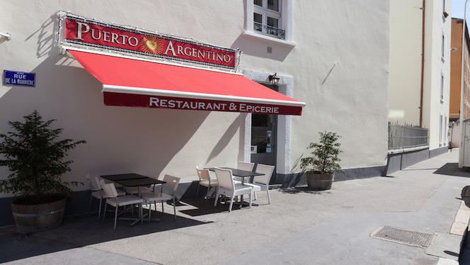 Vue de la façade - Puerto Argentino, Lyon