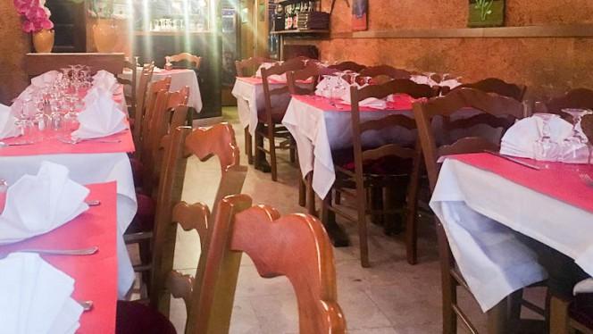Salon du restaurant - Krishna, Paris