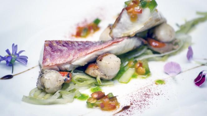 Salmonete del Restaurante Granero - Granero,