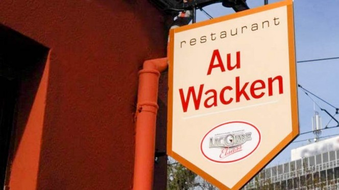 Enseigne - Au Wacken, Schiltigheim