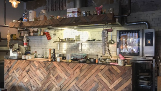 keuken - Eetlokaal Het Witte Huis, Rotterdam