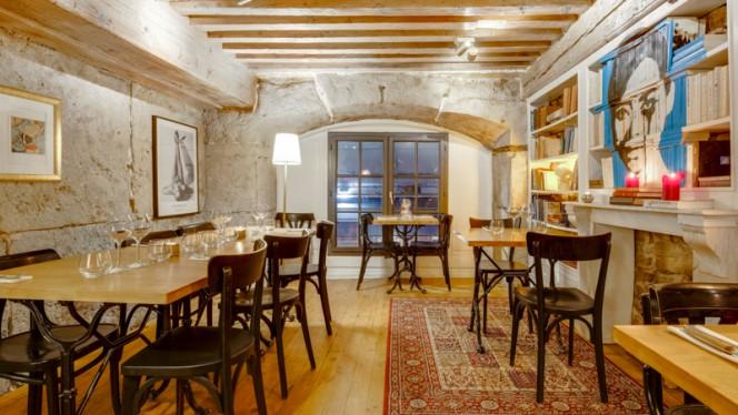 Salle du restaurant - Cercle Rouge, Lyon