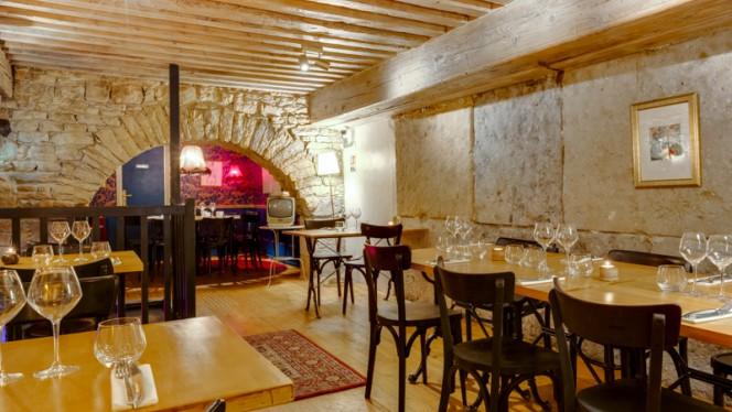 Vue de la salle - Cercle Rouge, Lyon