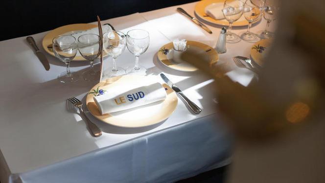 table dressée - Brasserie Le Sud, Lyon