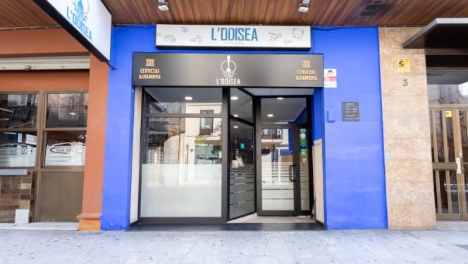 Fachada - Marisquería L'Odisea, Valencia