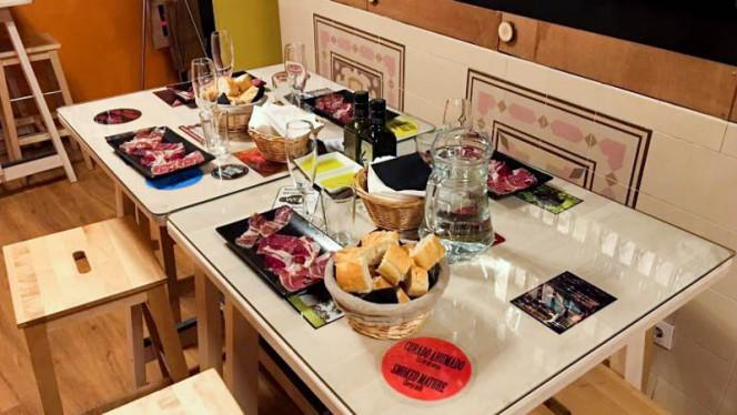 Sugerencia del chef - Mercado Jamón Ibérico, Madrid