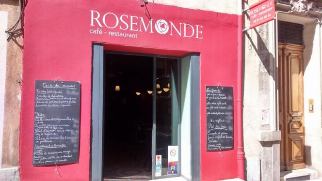 Entrée - Rosemonde, Marseille