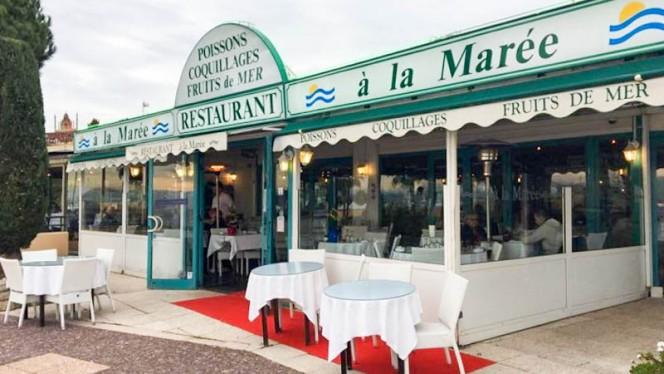 Devanture - A La Marée Saint Laurent du Var, Saint-Laurent-du-Var
