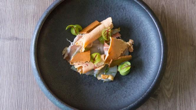 Saint jacques et foie gras - Les Sens du Goût, Namur