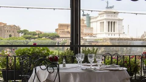Roof garden, Rome