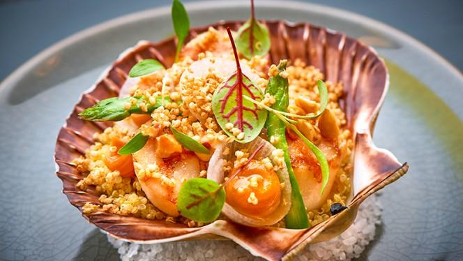 Coquilles met hazelnoot, pompoen, quinoa - Tommy's & Zuurveen, Den Haag