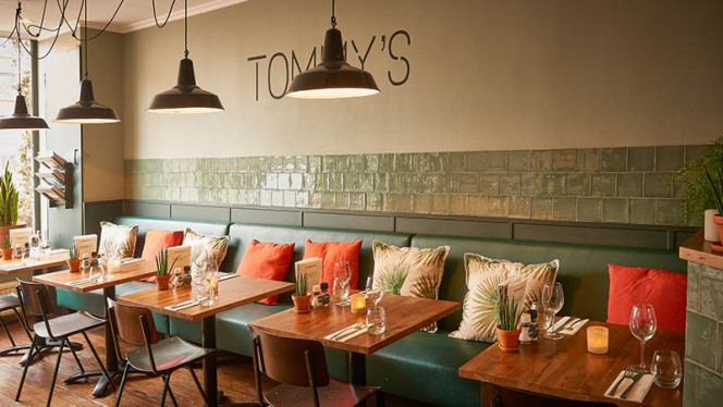 Interieur Tommy's - Tommy's & Zuurveen, Den Haag