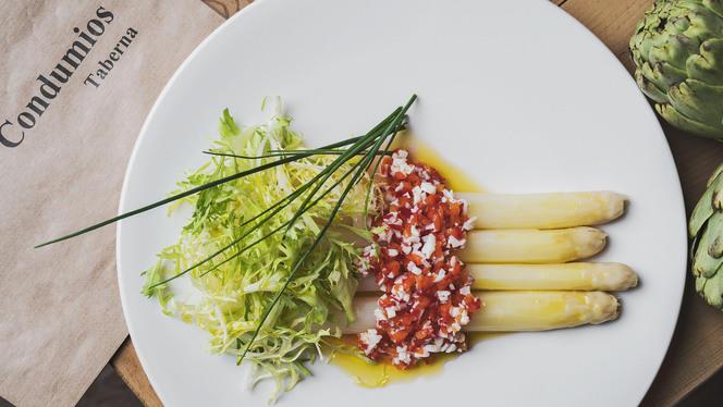 plato - Condumios Taberna, Madrid