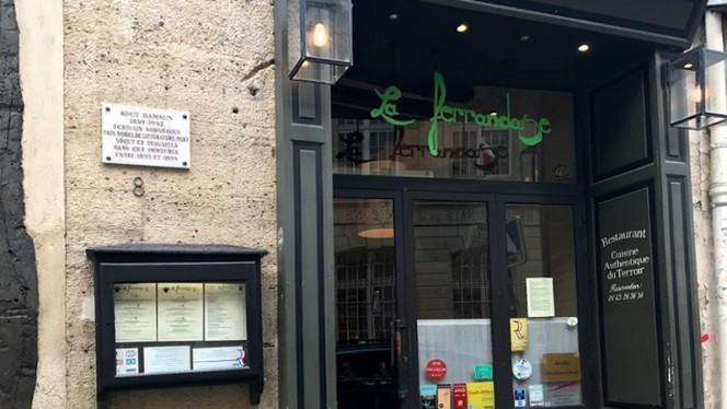 Devanture - La Ferrandaise, Paris