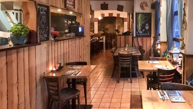Het restaurant - Los Che, Kampen