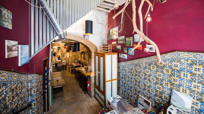 Sala do restaurante - Trásca, Porto