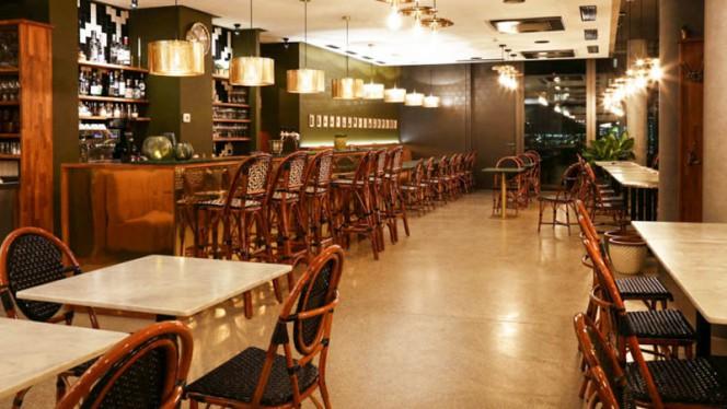 Vue de la salle - Café Hortus, Meyrin