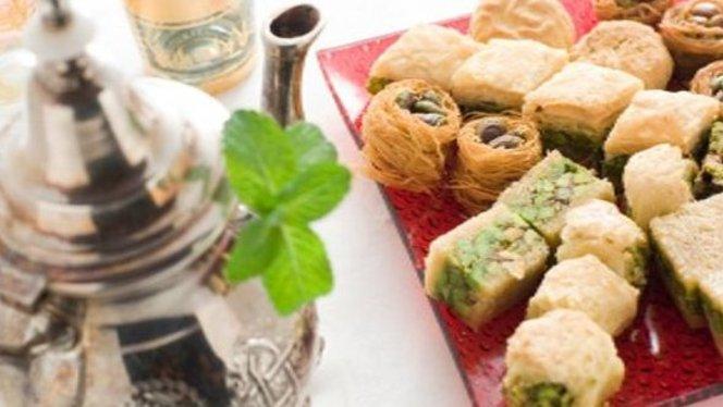 té e dolcetti arabi - El Jadida, Milan