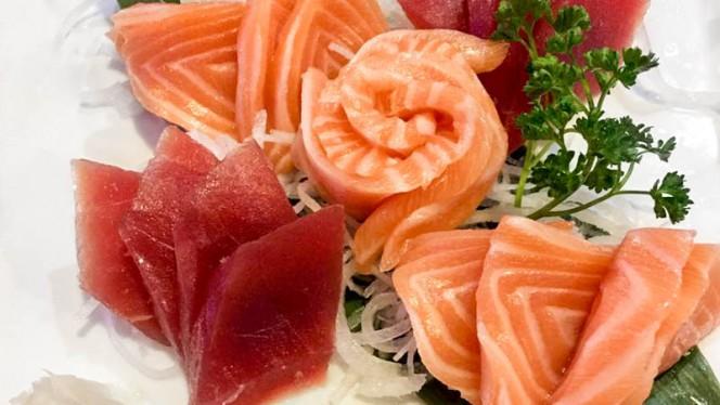 Sashimi saumon et thon - Toya, Lyon