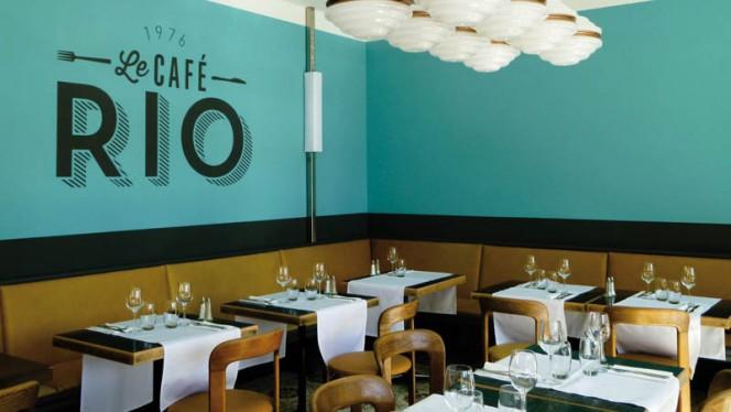 Vue de la salle - Café Rio,