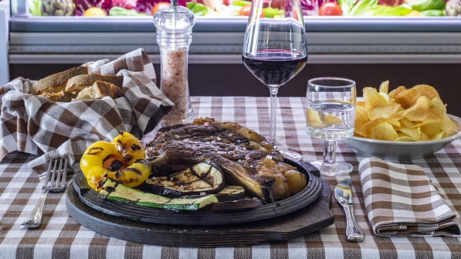 Piatto - Bull Steak, Rome