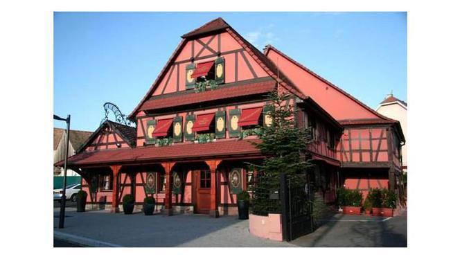 facade - Restaurant au Cheval Noir, Hœnheim