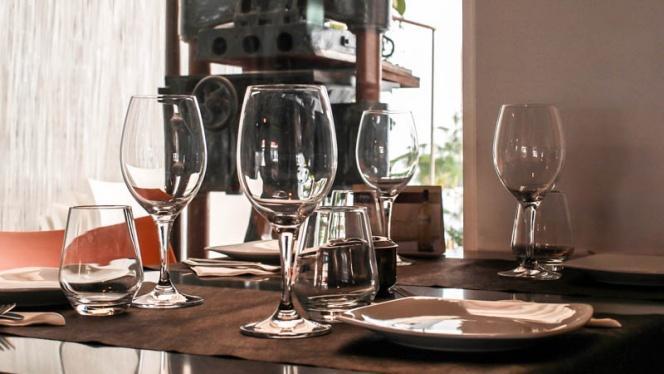 Detalle Mesas - El Sequer Bistronomia, Valencia