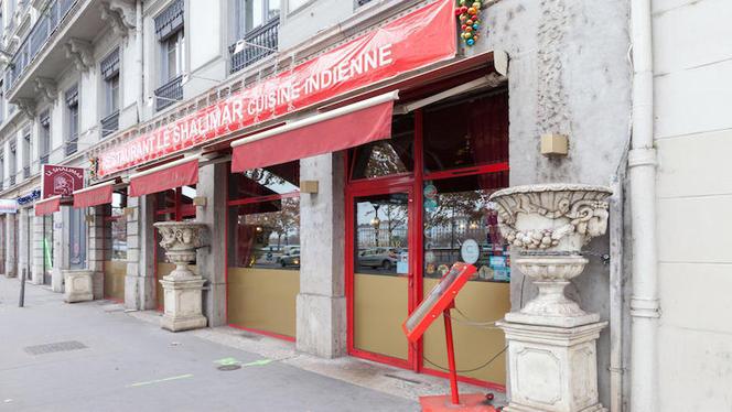 Devanture - Le Shalimar, Lyon