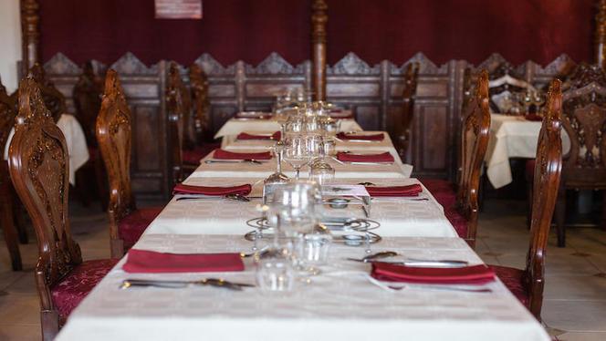 Table dressée - Le Shalimar, Lyon
