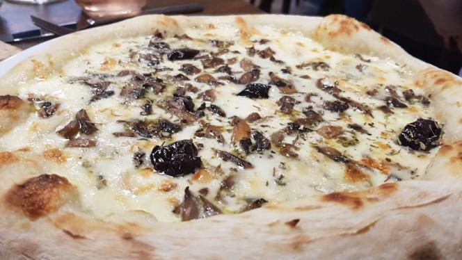 La Formaggi base crème supplément Duxelle de champignons - Le Delavega, Aix-en-Provence