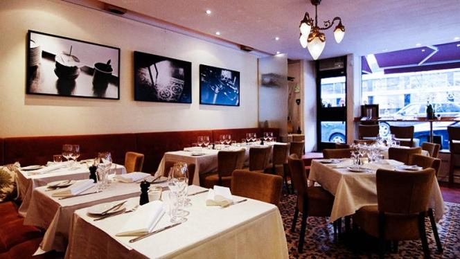 The restaurant - Brasserie Bobonne, Stockholm
