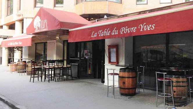 Zoom sur la terrasse - La Table du Povre Yves, Toulouse