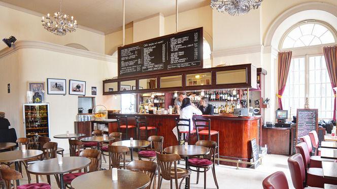 Aperçu du bar - Café Restaurant de l'Opéra, Strasbourg