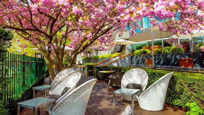 Serre - Terras - Serre Restaurant (Hotel Okura Amsterdam), Amsterdam