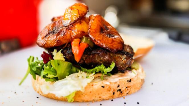 Suggestion de plat - Afrika Burger, Lyon