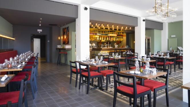 Vue de la salle - La Brasserie J5, Montreux