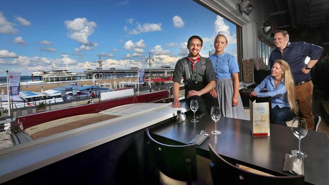 Het team - Brasserie Palace Scheveningen, Den Haag