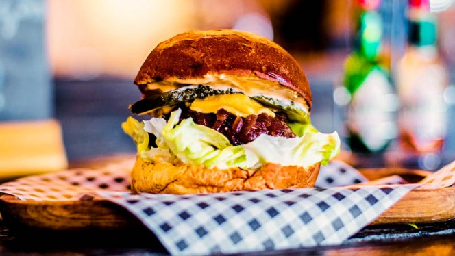 One of our famous burgers - Roffa Streetfoodbar, Rotterdam