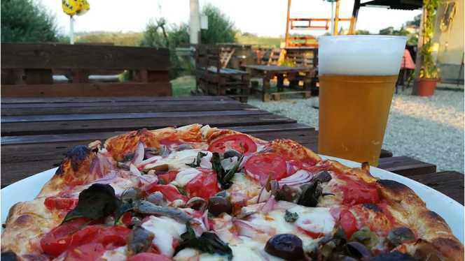 pizza - La Meta - Circolo Arci, San Gimignano