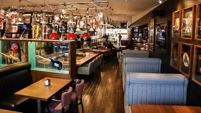 Vista sala - Happy Rock Bar & Grill, Barcelona