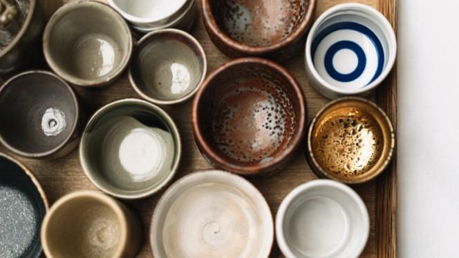 Porcelaine japonaise - Restaurant ERH, Paris