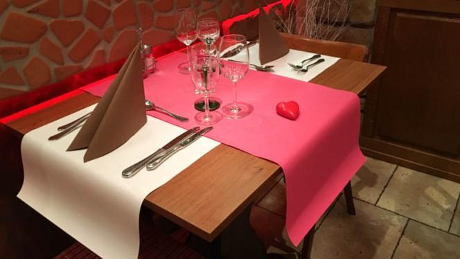 table dressée - Chez Georgette,