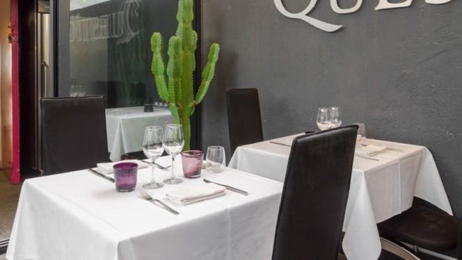 Table dressée - Question de Goût, Marseille