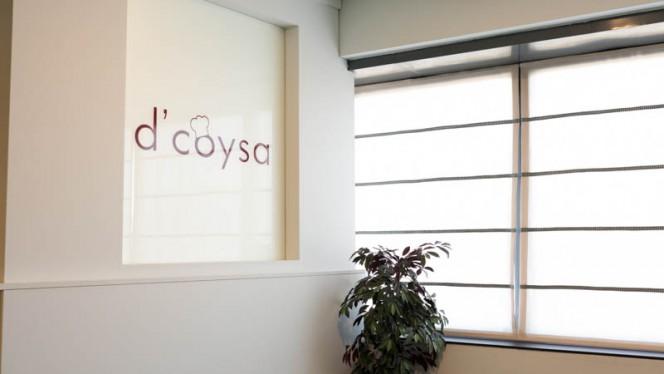 Vista del interior - D'Coysa, Madrid