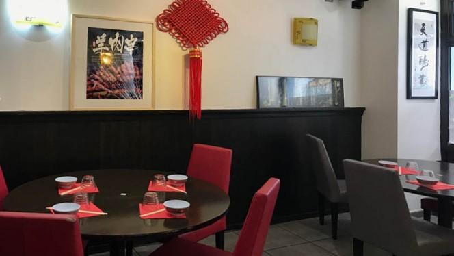 Vue de la salle - Hot Wok, Lyon
