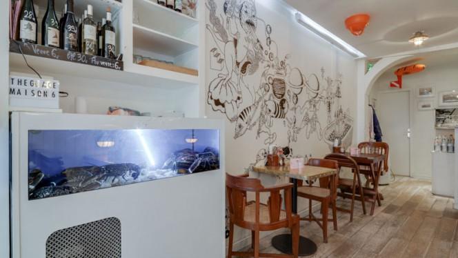 Vue de la salle - Lobster Bar, Paris