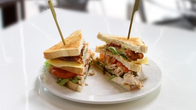 Club Sandwich - Café Restaurant Orff, Amsterdam