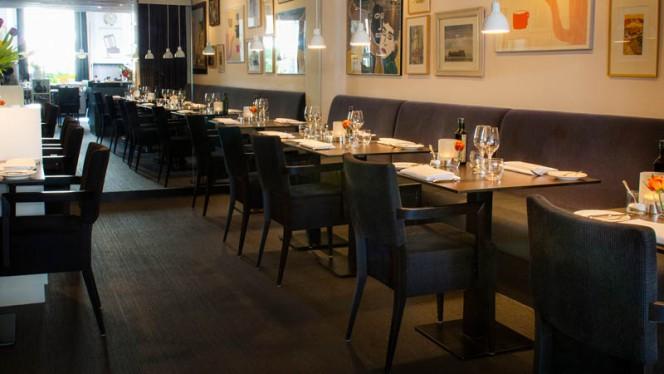 restaurantzaal - Theater Restaurant Bouwkunde, Deventer