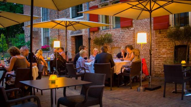 terras - Theater Restaurant Bouwkunde, Deventer